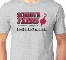 Schrute farms beets. Bed, breakfast beets. Unisex T-Shirt