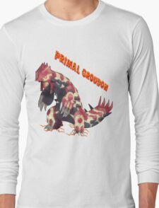 Primal Groudon (Pokemon Omega Ruby) Long Sleeve T-Shirt
