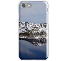 Crater Lake with Late Afternoon Reflection iPhone Case/Skin