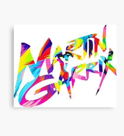 MARTIN GARRIX COLORS Canvas Print