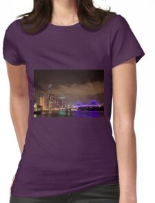 sky light, sky bright Womens Fitted T-Shirt
