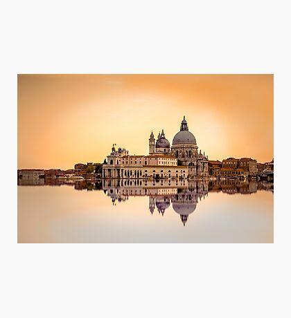 Basilica di Santa Maria della Salute, Venice. Photographic Print