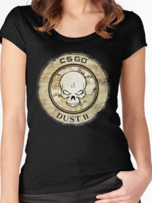 Counter Strike Dust II Women's Fitted Scoop T-Shirt