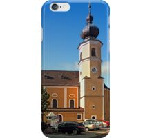 The village church of Helfenberg I | architectural photography iPhone Case/Skin