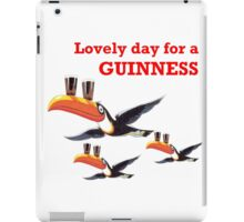LOVELY DAY FOR A GUINNESS iPad Case/Skin