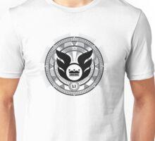 LI  09 - Black on White Unisex T-Shirt
