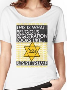 This Is What Religious Registration Looks Like Women's Relaxed Fit T-Shirt