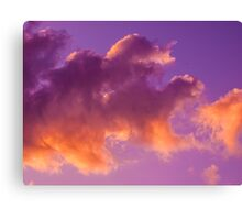 Cloud dragon Canvas Print