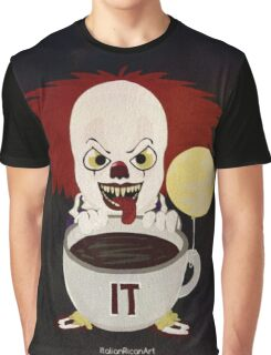 Just Drink It Penny The Clown Graphic T-Shirt