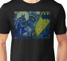 Abstract Batman in Gotham Unisex T-Shirt