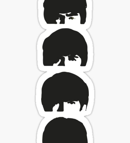 The Beatles Stacked Sticker