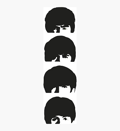 The Beatles Stacked Photographic Print