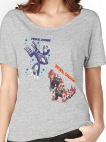 Primal Groudon & Primal Kyogre Women's Relaxed Fit T-Shirt