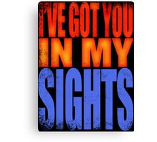 Soldier 76 - I've got you in my Sights Canvas Print