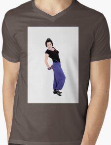 Dance sport Mens V-Neck T-Shirt