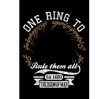 One ring to.. Photographic Print