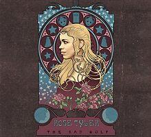 Rose art nouveau by koroa