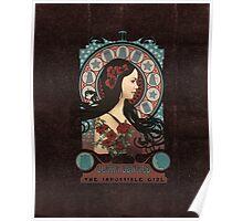 Clara art nouveau Poster