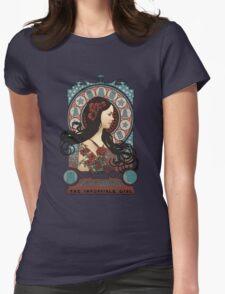 Clara art nouveau Womens Fitted T-Shirt
