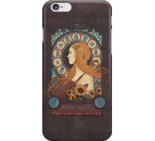 Amy art nouveau  iPhone Case/Skin