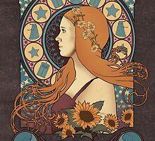 Amy art nouveau  by koroa
