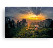 Meteora Canvas Print