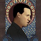 9th doctor art nouveau by koroa