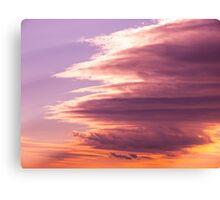 Cloud vortex Canvas Print
