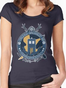 Tumblr academy of procrastination Women's Fitted Scoop T-Shirt