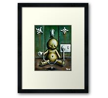 The tyranny of self punishment Framed Print