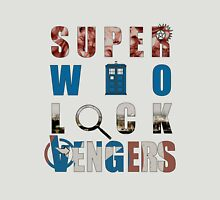 SuperWhoLockVengers T-Shirt