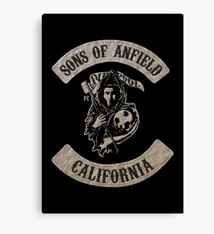 Sons of Anfield - California Canvas Print