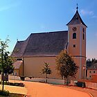 The village church of Sankt Stefan III | architectural photography by Patrick Jobst