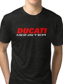DUCATI MONSTER Tri-blend T-Shirt