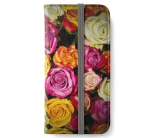 Beautiful Mixed Roses Bouquet iPhone Wallet/Case/Skin