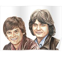 Phil & Don Everly Poster