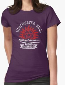 Winchester bros Womens Fitted T-Shirt