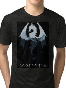 Dragon - Skyrim Tri-blend T-Shirt