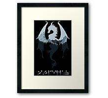 Dragon - Skyrim Framed Print