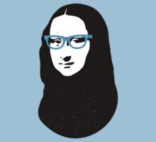 Mona Lisa Hipster Kids Clothes