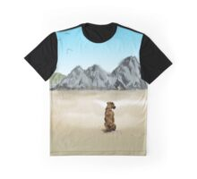 Three Cliffs Dog Graphic T-Shirt