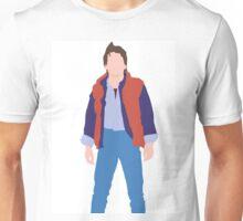 Minimalistic Marty McFly  Unisex T-Shirt