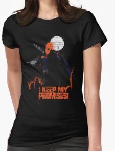 Pain, Suffering and Vengeance Womens Fitted T-Shirt