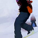Snowboarder Moves by NaturePrints