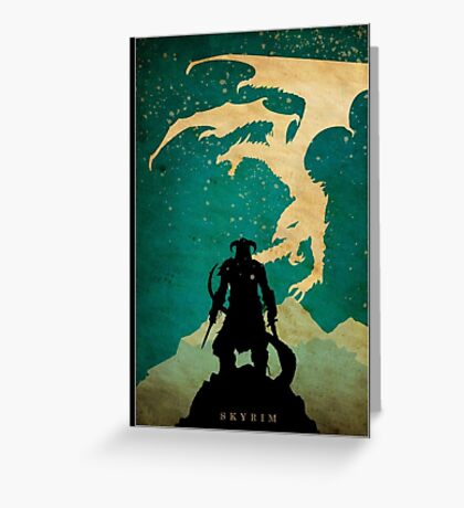 Dovahkiin Greeting Card