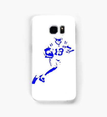TY Hilton Indianapolis Colts Football Blue Samsung Galaxy Case/Skin
