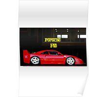 Porsche F40 Poster