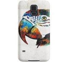 Parrot Head Art By Sharon Cummings Samsung Galaxy Case/Skin