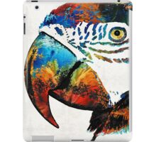 Parrot Head Art By Sharon Cummings iPad Case/Skin