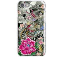 Samurai and Dragon iPhone Case/Skin